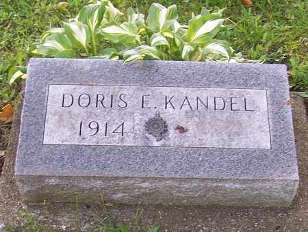 KANDEL, DORIS E. - Stark County, Ohio | DORIS E. KANDEL - Ohio Gravestone Photos