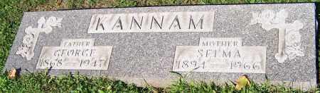 KANNAM, GEORGE - Stark County, Ohio | GEORGE KANNAM - Ohio Gravestone Photos