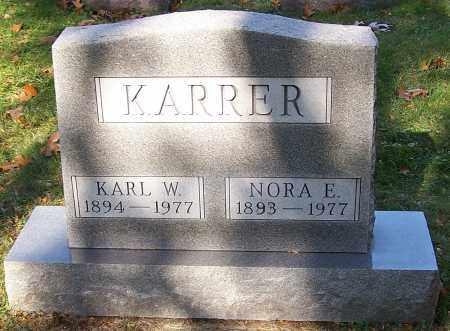 KARRER, KARL W. - Stark County, Ohio   KARL W. KARRER - Ohio Gravestone Photos