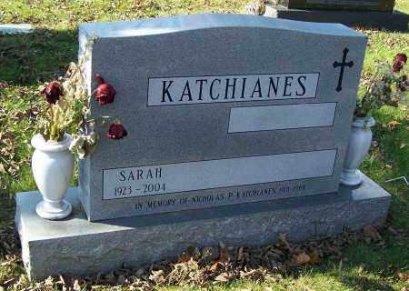 KATCHIANES,, SARAH - Stark County, Ohio | SARAH KATCHIANES, - Ohio Gravestone Photos