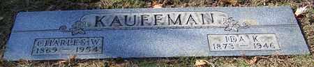 KAUFFMAN, CHARLES W. - Stark County, Ohio | CHARLES W. KAUFFMAN - Ohio Gravestone Photos