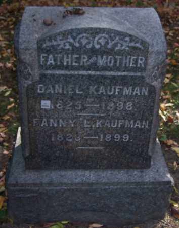 KAUFMAN, FANNY L. - Stark County, Ohio | FANNY L. KAUFMAN - Ohio Gravestone Photos