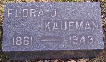 KAUFMAN, FLORA J. - Stark County, Ohio   FLORA J. KAUFMAN - Ohio Gravestone Photos