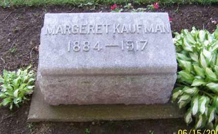 KAUFMAN, MARGERET - Stark County, Ohio | MARGERET KAUFMAN - Ohio Gravestone Photos