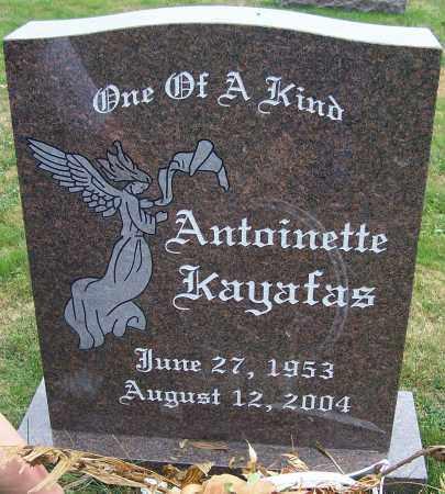 KAYAFAS, ANTOINETTE - Stark County, Ohio | ANTOINETTE KAYAFAS - Ohio Gravestone Photos
