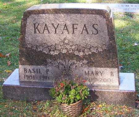 KAYAFAS, MARY B. - Stark County, Ohio   MARY B. KAYAFAS - Ohio Gravestone Photos