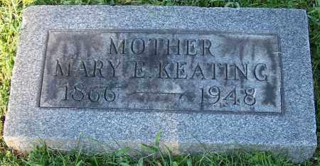 KEATING, MARY E. - Stark County, Ohio | MARY E. KEATING - Ohio Gravestone Photos