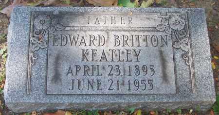 KEATLEY, EDWARD BRITTON - Stark County, Ohio | EDWARD BRITTON KEATLEY - Ohio Gravestone Photos