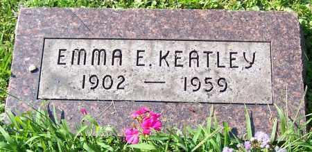 KEATLEY, EMMA E. - Stark County, Ohio | EMMA E. KEATLEY - Ohio Gravestone Photos