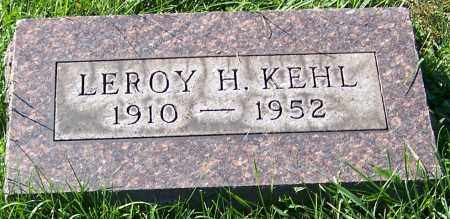 KEHL, LEROY H. - Stark County, Ohio   LEROY H. KEHL - Ohio Gravestone Photos