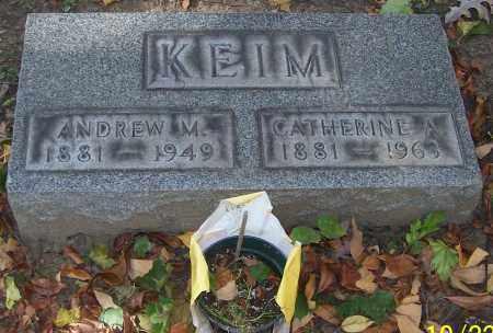 KEIM, ANDREW M. - Stark County, Ohio | ANDREW M. KEIM - Ohio Gravestone Photos