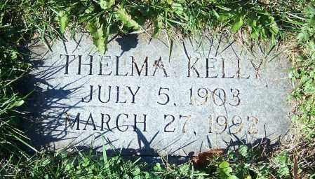 KELLY, THELMA - Stark County, Ohio | THELMA KELLY - Ohio Gravestone Photos
