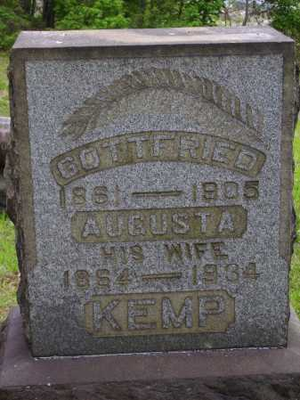 RADKE KEMP, AUGUSTA - Stark County, Ohio | AUGUSTA RADKE KEMP - Ohio Gravestone Photos