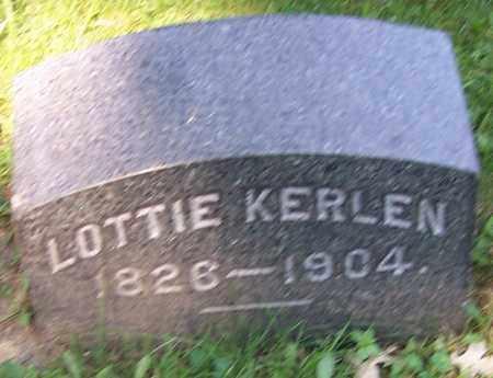 KERLEN, LOTTIE - Stark County, Ohio | LOTTIE KERLEN - Ohio Gravestone Photos