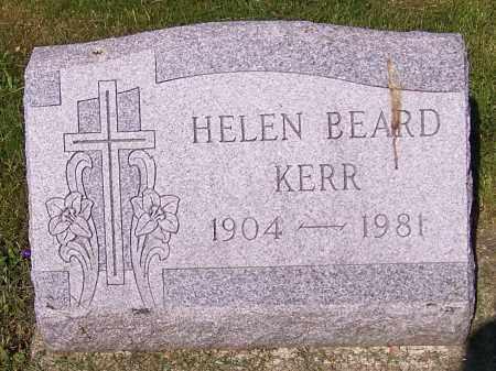 KERR, HELEN BEARD - Stark County, Ohio | HELEN BEARD KERR - Ohio Gravestone Photos