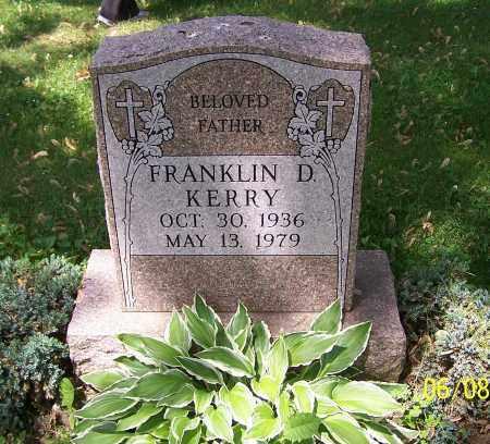 KERRY, FRANKLIN D. - Stark County, Ohio | FRANKLIN D. KERRY - Ohio Gravestone Photos