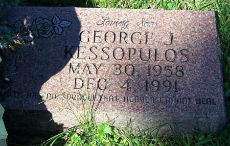 KESSOPULOS, GEORGE J. - Stark County, Ohio   GEORGE J. KESSOPULOS - Ohio Gravestone Photos