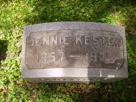 KESTER, JENNIE - Stark County, Ohio | JENNIE KESTER - Ohio Gravestone Photos