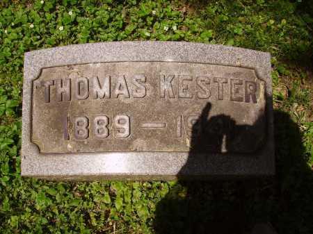 KESTER, THOMAS - Stark County, Ohio   THOMAS KESTER - Ohio Gravestone Photos