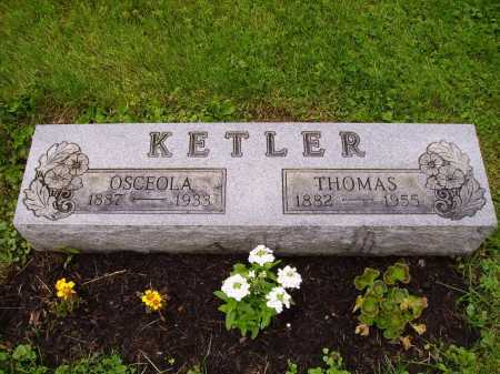 KETLER, THOMAS - Stark County, Ohio | THOMAS KETLER - Ohio Gravestone Photos