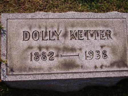 KETTER, DOLLY - Stark County, Ohio | DOLLY KETTER - Ohio Gravestone Photos