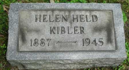 HELD KIBLER, HELEN - Stark County, Ohio | HELEN HELD KIBLER - Ohio Gravestone Photos