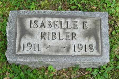KIBLER, ISABELLE - Stark County, Ohio | ISABELLE KIBLER - Ohio Gravestone Photos