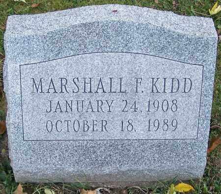 KIDD, MARSHALL F. - Stark County, Ohio   MARSHALL F. KIDD - Ohio Gravestone Photos