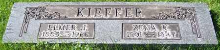 KIEFFER, ZENA K. - Stark County, Ohio | ZENA K. KIEFFER - Ohio Gravestone Photos