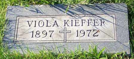 KIEFFER, VIOLA - Stark County, Ohio | VIOLA KIEFFER - Ohio Gravestone Photos