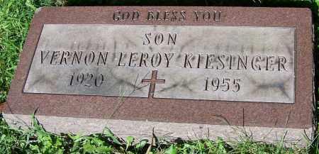 KIESINGER, VERNON LEROY - Stark County, Ohio   VERNON LEROY KIESINGER - Ohio Gravestone Photos