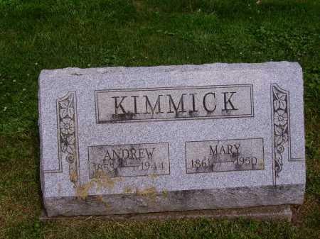 KIMMICK, ANDREW - Stark County, Ohio | ANDREW KIMMICK - Ohio Gravestone Photos