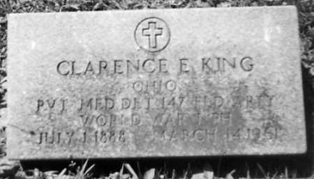 KING, CLARENCE E. - Stark County, Ohio | CLARENCE E. KING - Ohio Gravestone Photos