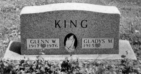 KING, GLENN W. - Stark County, Ohio | GLENN W. KING - Ohio Gravestone Photos
