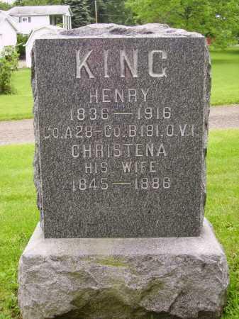 KING, HENRY - Stark County, Ohio | HENRY KING - Ohio Gravestone Photos