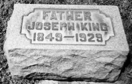 KING, JOSEPH - Stark County, Ohio | JOSEPH KING - Ohio Gravestone Photos