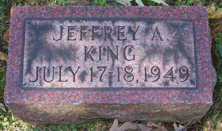KING, JEFFREY A. - Stark County, Ohio | JEFFREY A. KING - Ohio Gravestone Photos