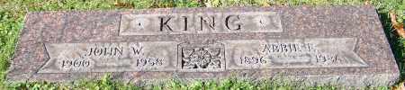 KING, JOHN W. - Stark County, Ohio   JOHN W. KING - Ohio Gravestone Photos