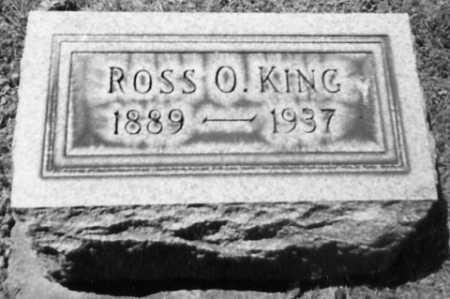 KING, ROSS O. - Stark County, Ohio | ROSS O. KING - Ohio Gravestone Photos