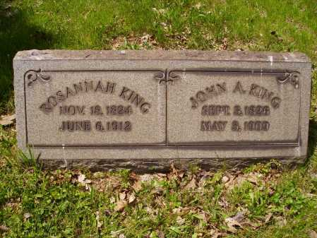 KING, JOHN A. - Stark County, Ohio   JOHN A. KING - Ohio Gravestone Photos