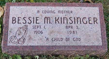 KINSINGER, BESSIE M. - Stark County, Ohio | BESSIE M. KINSINGER - Ohio Gravestone Photos