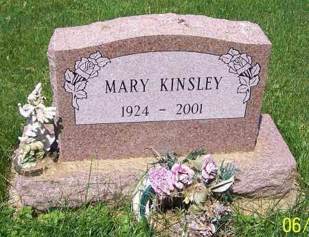 KINSLEY, MARY - Stark County, Ohio | MARY KINSLEY - Ohio Gravestone Photos