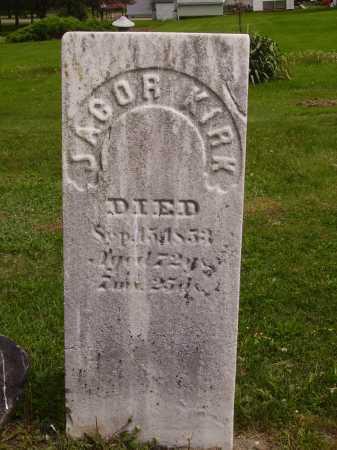 KIRK, JACOB - Stark County, Ohio   JACOB KIRK - Ohio Gravestone Photos