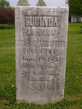 KIRK, LUCINDA - Stark County, Ohio   LUCINDA KIRK - Ohio Gravestone Photos