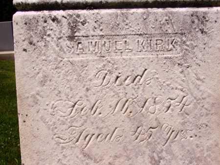 KIRK, SAMUEL - Stark County, Ohio | SAMUEL KIRK - Ohio Gravestone Photos
