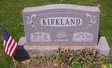 KIRKLAND, ROBERT JR. - Stark County, Ohio | ROBERT JR. KIRKLAND - Ohio Gravestone Photos