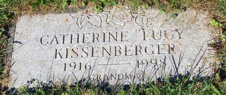 "KISSENBERGER, CATHERINE ""LUCY"" - Stark County, Ohio | CATHERINE ""LUCY"" KISSENBERGER - Ohio Gravestone Photos"