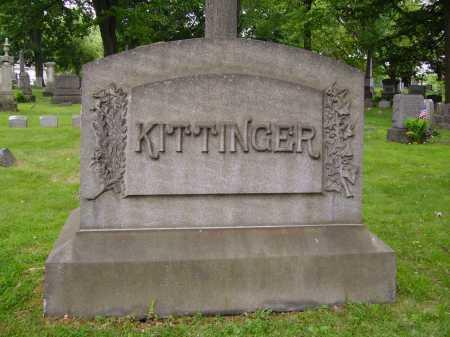 KITTINGER, AMANDA - MONUMENT - Stark County, Ohio | AMANDA - MONUMENT KITTINGER - Ohio Gravestone Photos