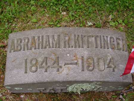 KITTINGER, ABRAHAM R. - Stark County, Ohio | ABRAHAM R. KITTINGER - Ohio Gravestone Photos
