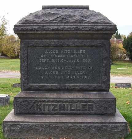 KITZMILLER, JACOB - Stark County, Ohio | JACOB KITZMILLER - Ohio Gravestone Photos